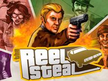 Reel Steal на зеркале клуба от разработчика Netent