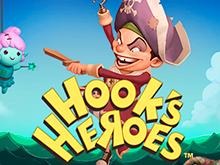 Hook's Heroes на зеркале клуба от производителя Netent