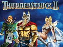 Автомат в казино Вулкан Thunderstruck II онлайн