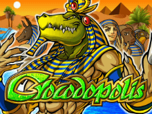 Пятибарабанный игровой автомат онлайн Крокодополис